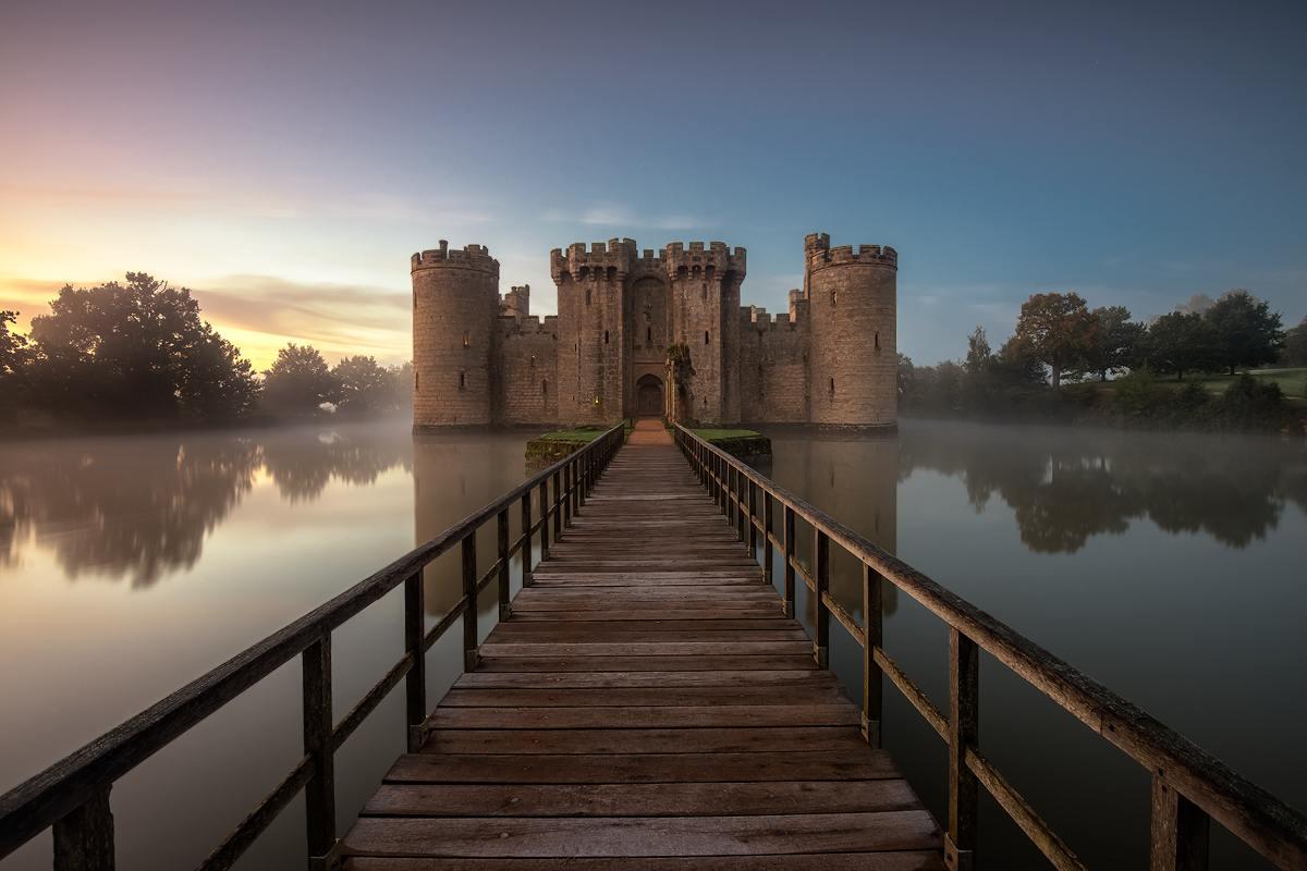 Château de Bodiam - Sussex Angleterre