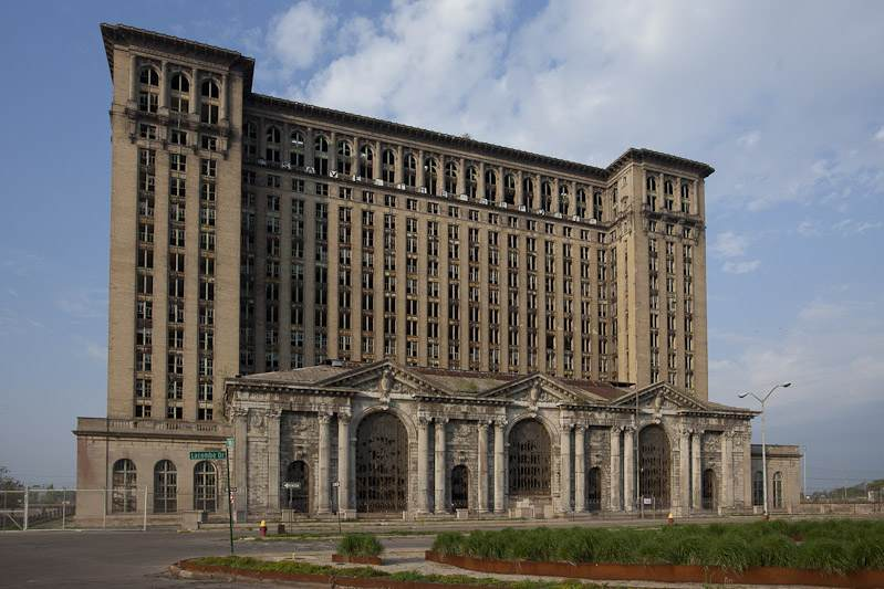 Gare centrale Michigan Detroit