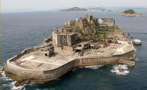 Ile abandonée Hashima