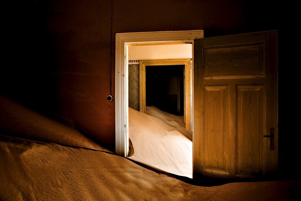 Kolmanskop désert de Namib Namibie