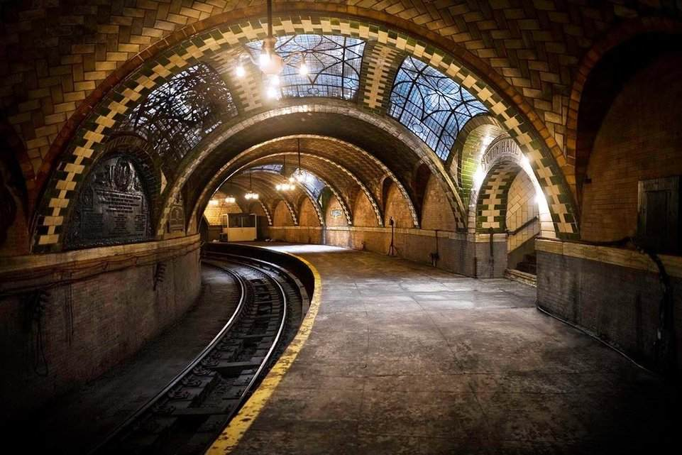 Metro abandonné City Hall