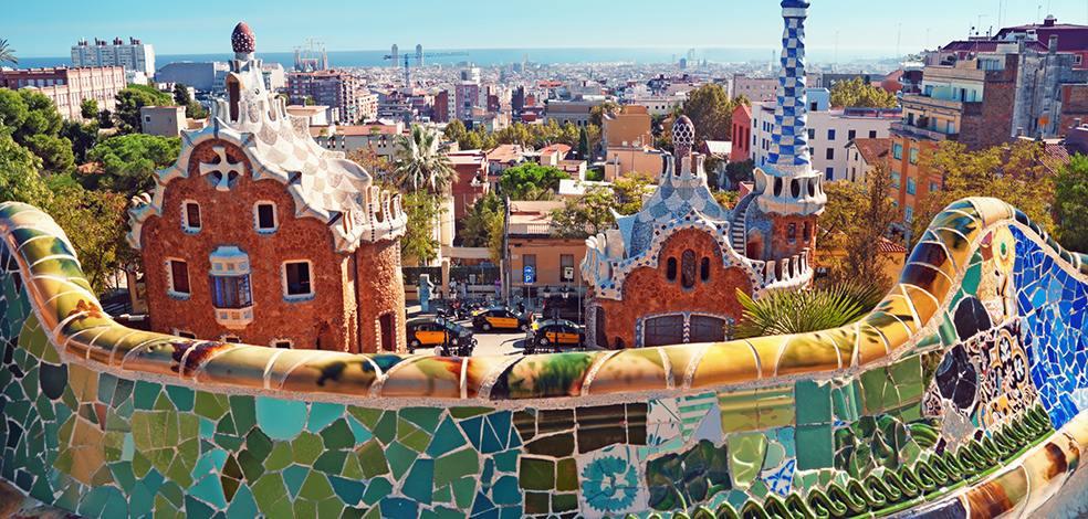 Parc Guell Barcelone - endroit Barcelone a ne pas manquer