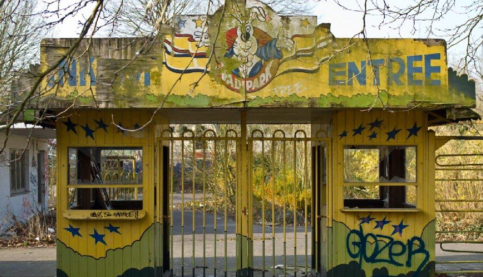 Parc abandonné Belgique Dadipark