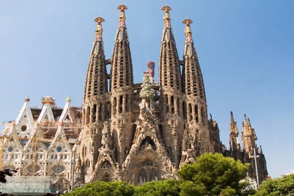 Sagrada Familia - endroit incontournable barcelone
