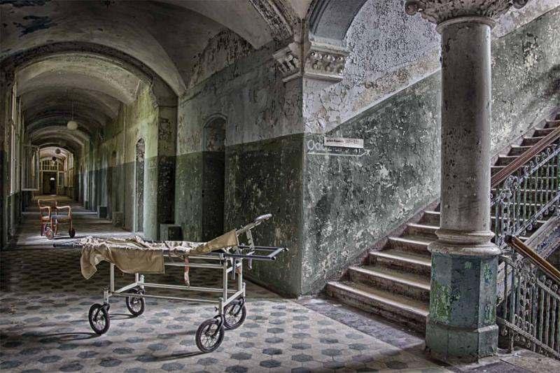 Sanatorium de Beelitz - Allemagne