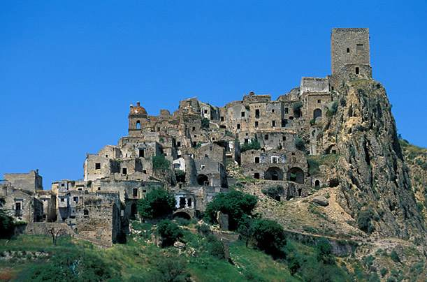 Village abandonné Craco - Italie