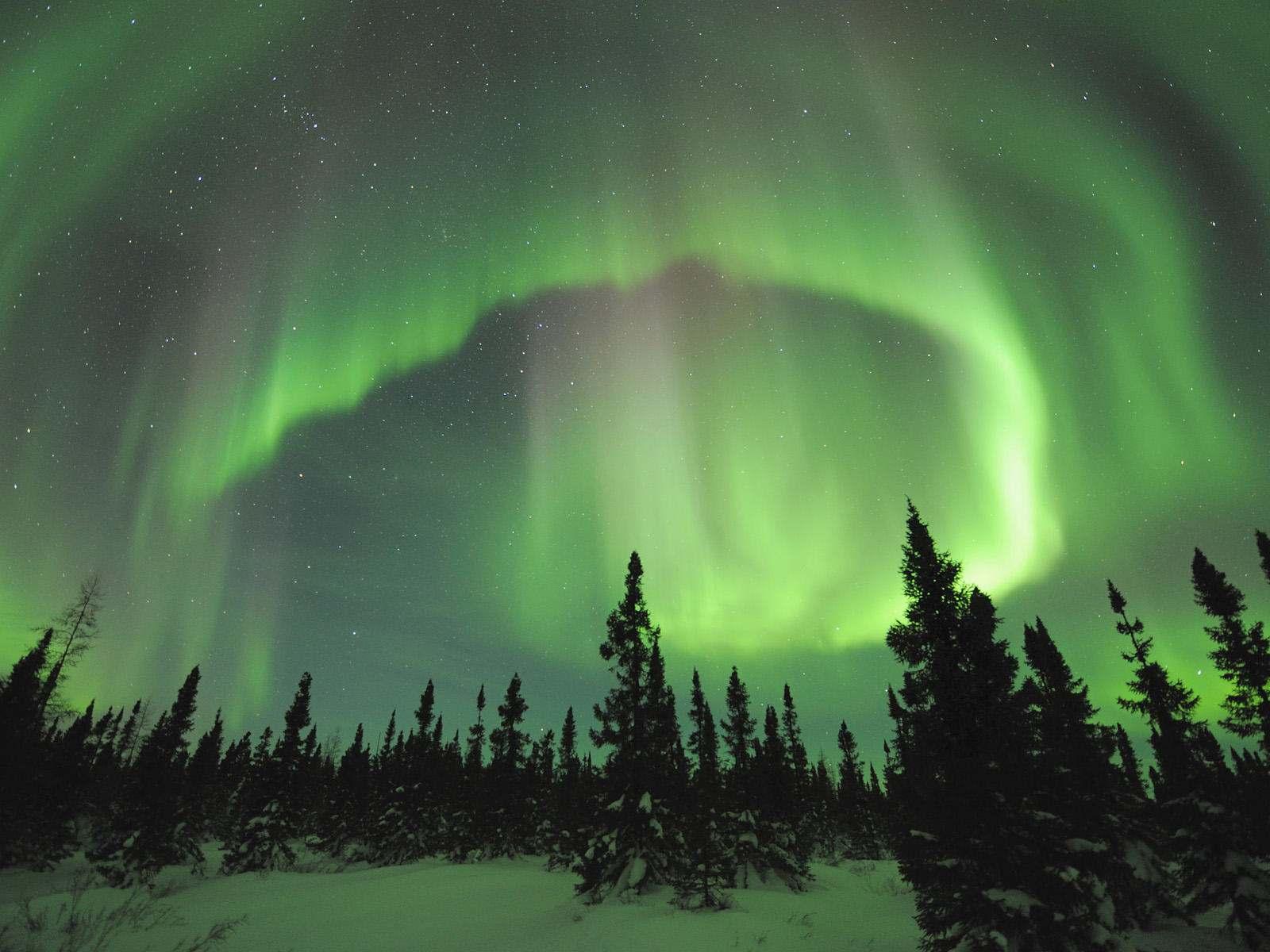 aurore boreale canada