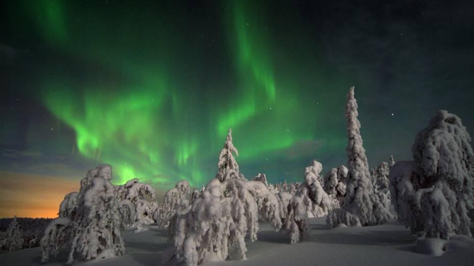 aurores boreales finlande