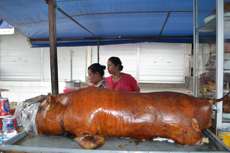 babi guling indonésie